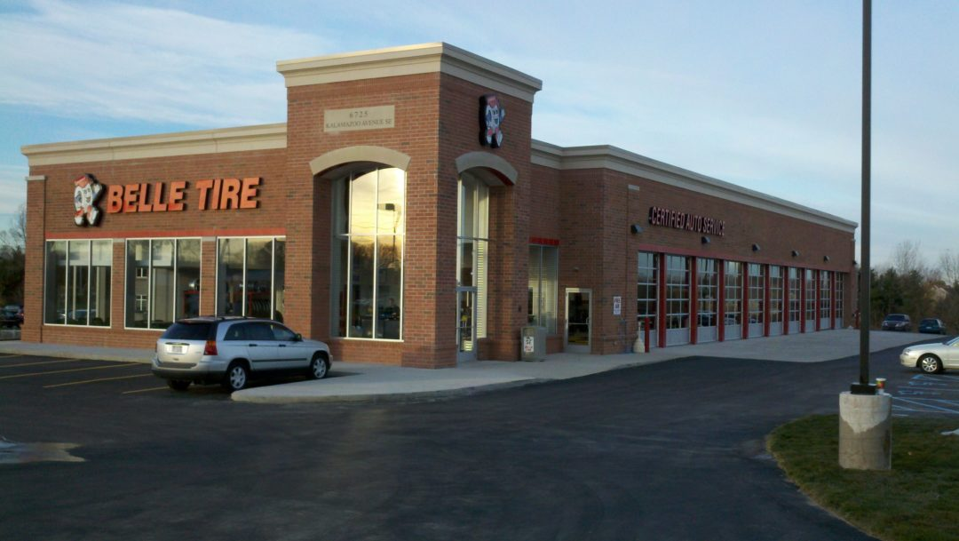 New Belle Tire store is prototypical