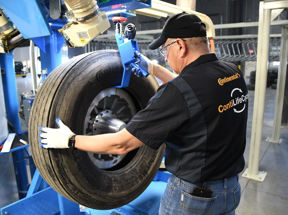 New Continental Sustainability Department Includes Retread Operations