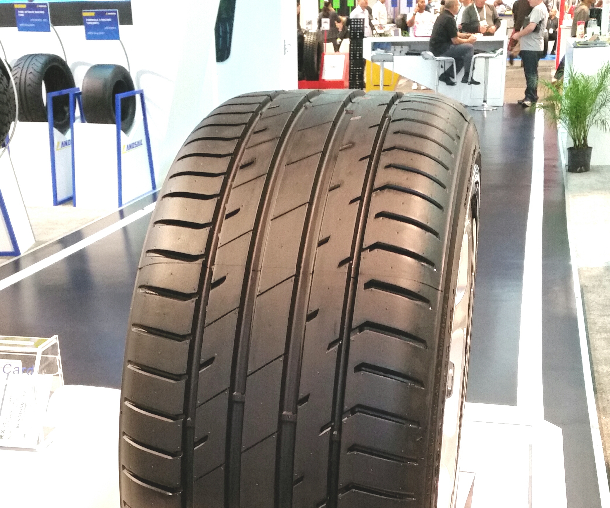 New Delinte Tires Get Special Treatment in the Sentury Tire USA Booth