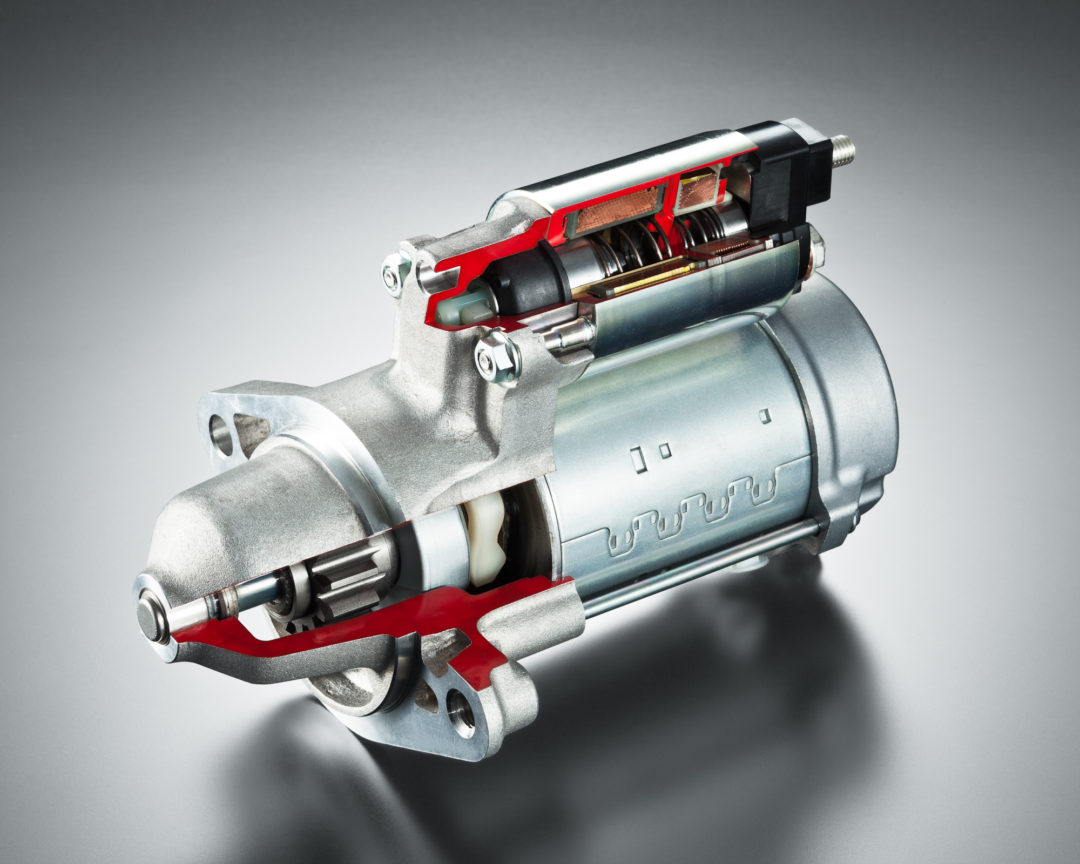 New DENSO starter for stop/start systems