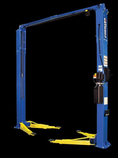New Forward Lift F10 Two-Post Lift Services Wide Range of Vehicles