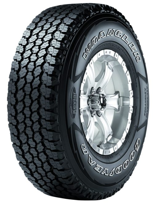 New from Goodyear: Wrangler All-Terrain Adventure