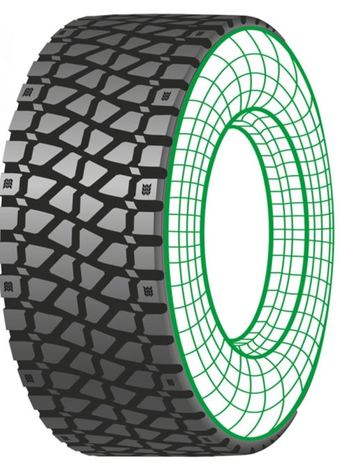 New From Marangoni: A Wide-Base Retread for Concrete Mixers