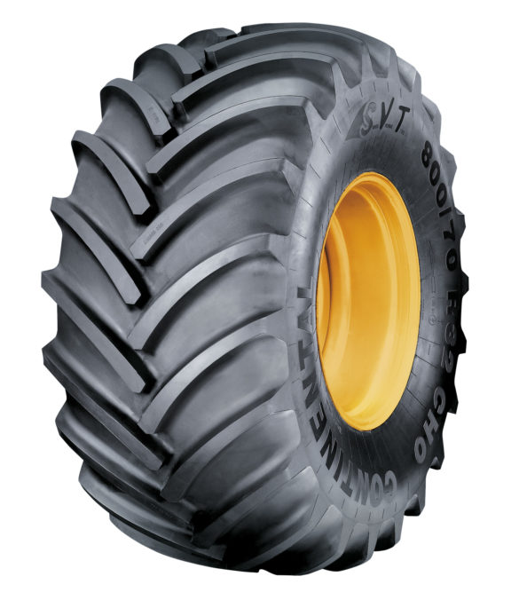 New Mitas harvester tire sizes at Agritechnica