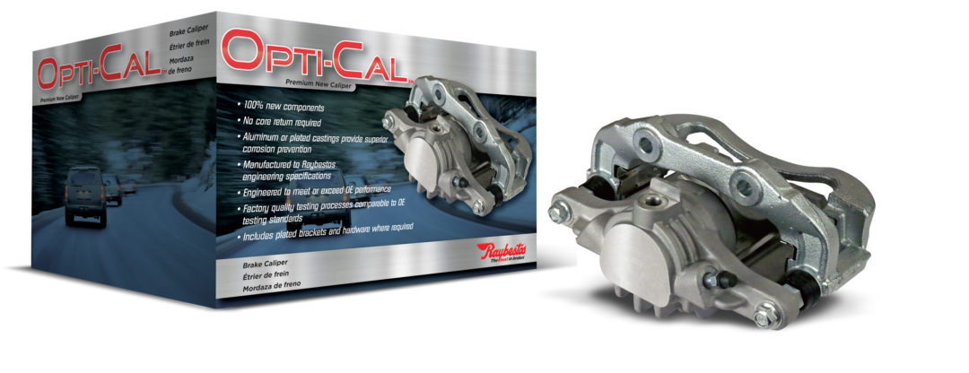 New Opti-Cal Brake Calipers Eliminate Core Returns