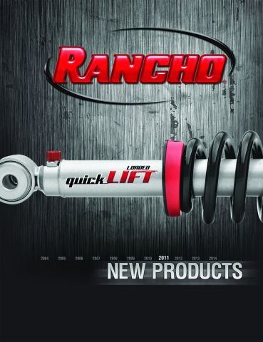 New Rancho Master Catalog is available