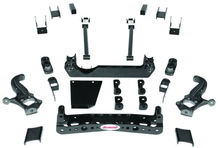 New Rancho suspension for Chevy, GMC trucks
