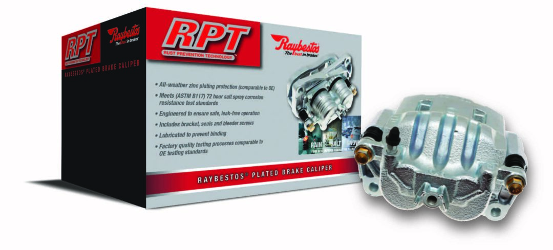 New Raybestos Brake Calipers Have Zinc Plating Protection