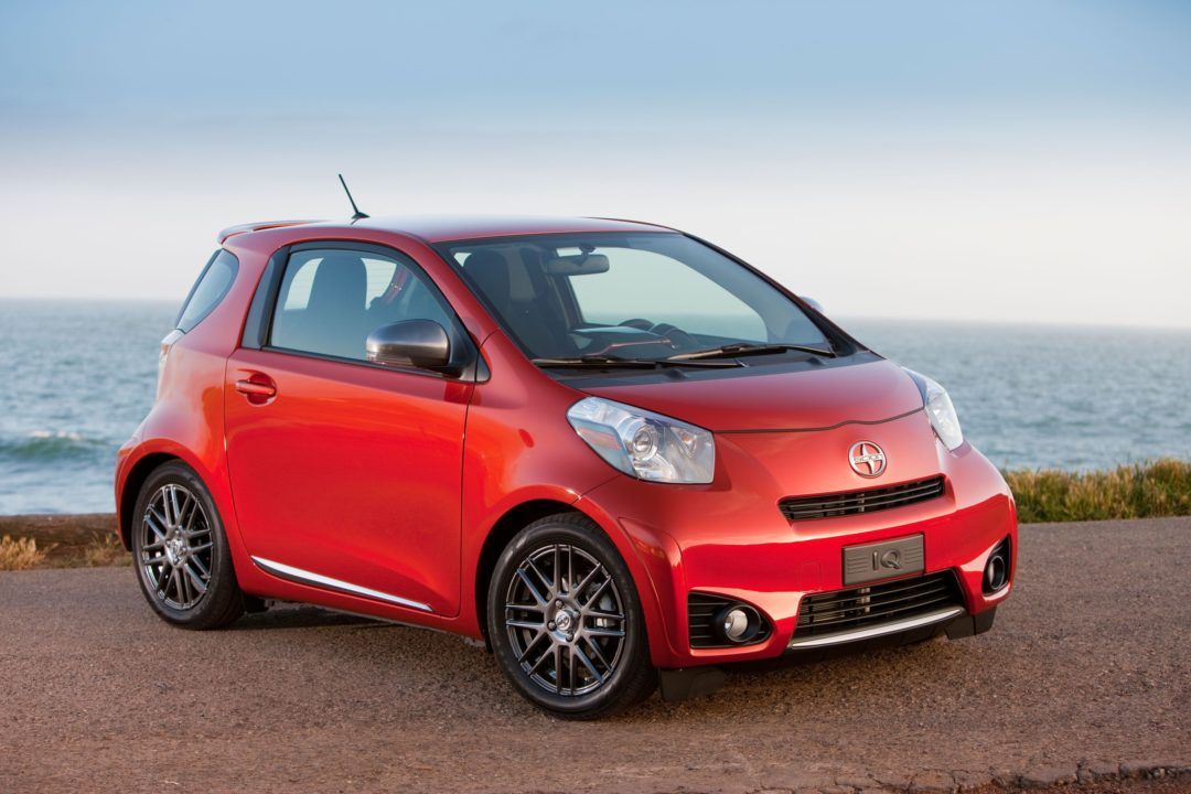 New Scion iQ saves fuel with Goodyear's help