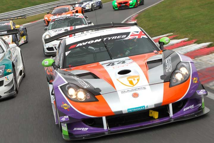 New slick tyre for Avon's tenth British GT Championship