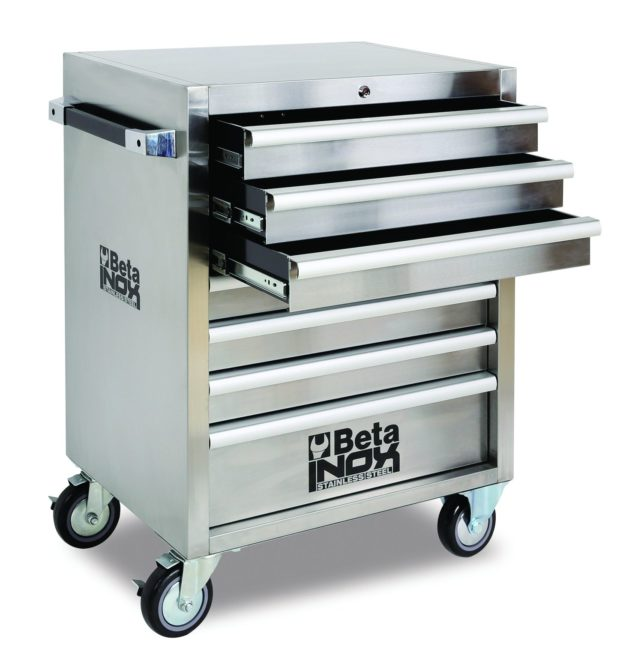 New Stainless Steel Roller Cabinet