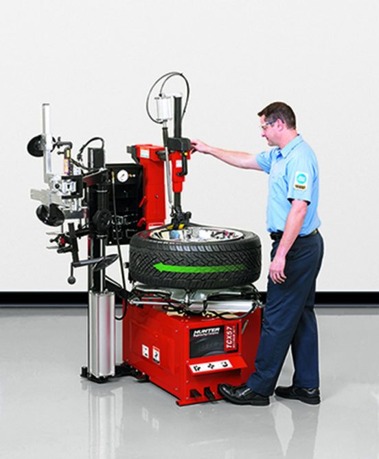 New Tabletop Tire Changers From Hunter