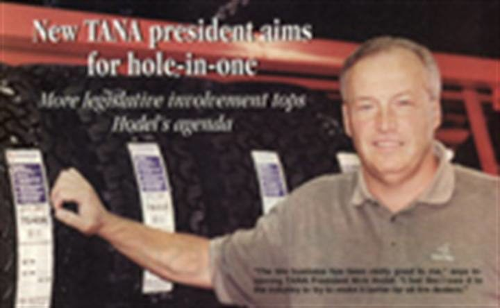 New TANA president aims for hole-in-one