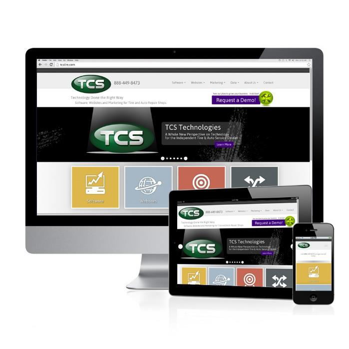 New TCS website highlights mobile capabilities