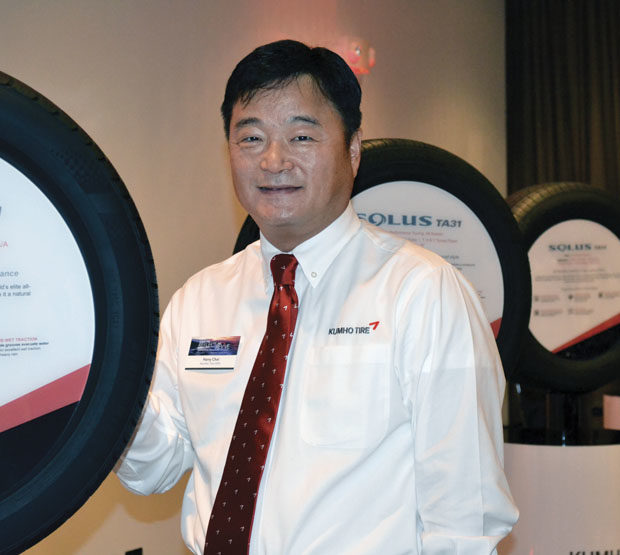 New tires and pro basketball promotions boost Kumho brand