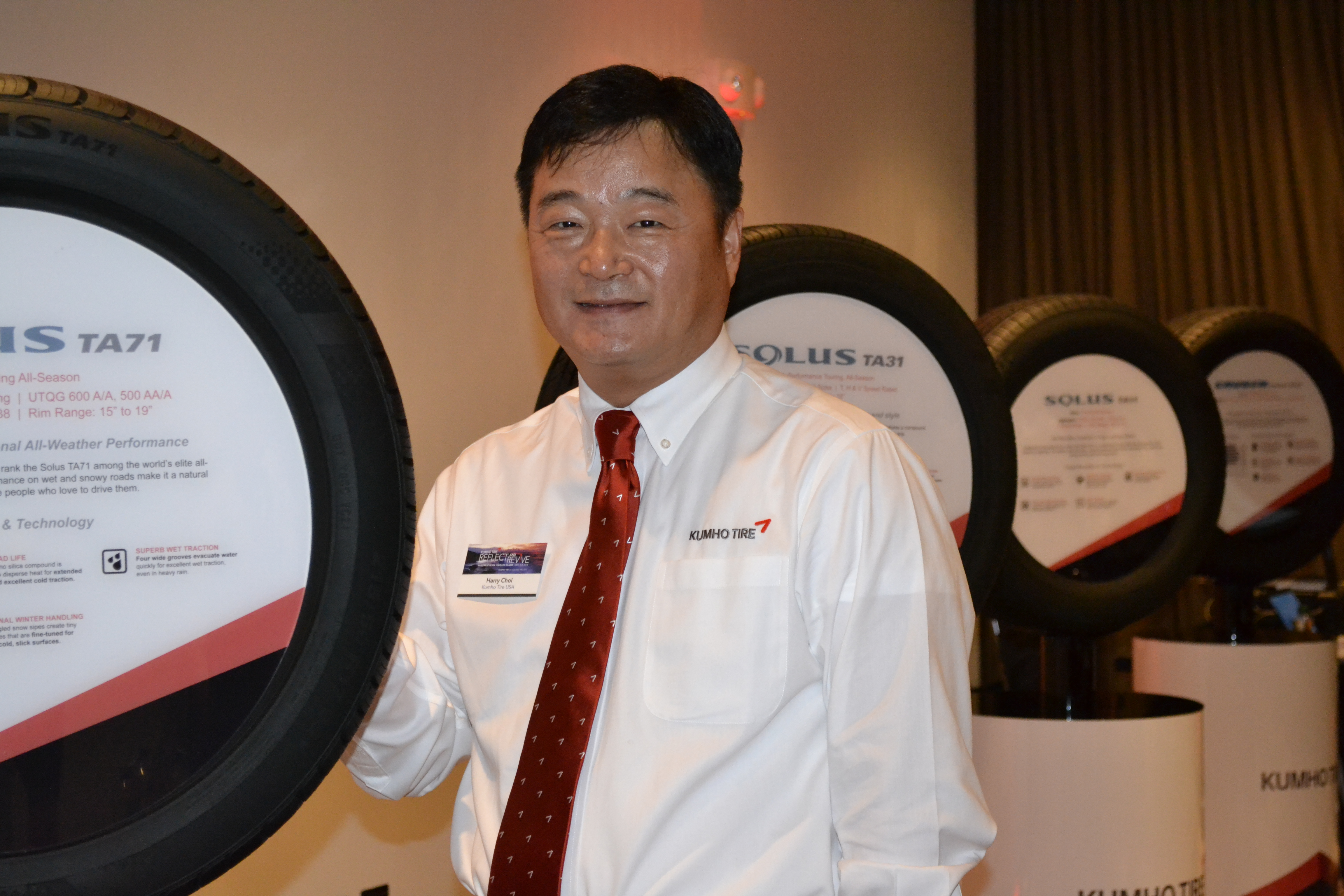 New tires and promotions boost Kumho brand