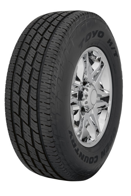 New Toyo Open Country H/T Has Dual Sidewall Design