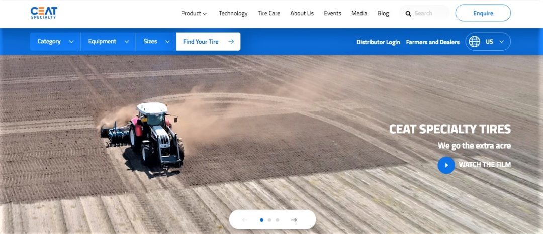 New Website Promotes CEAT Ag Tires