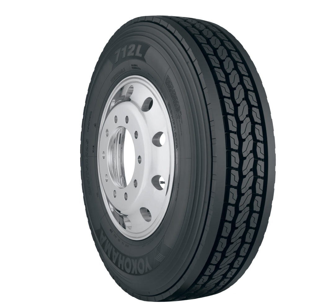 New Yokohama 712L Drive Tire Is Certified for Severe Snow Service