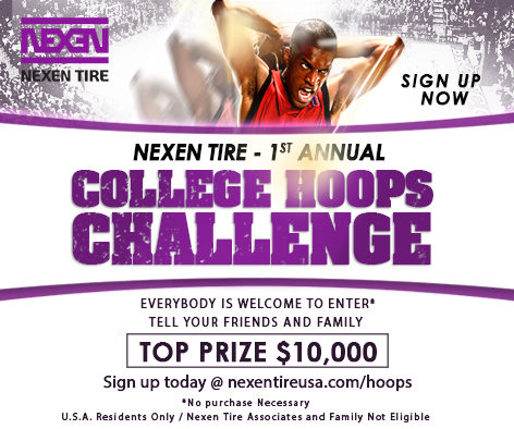 Nexen Tire Announces 1st Annual College Hoops Challenge