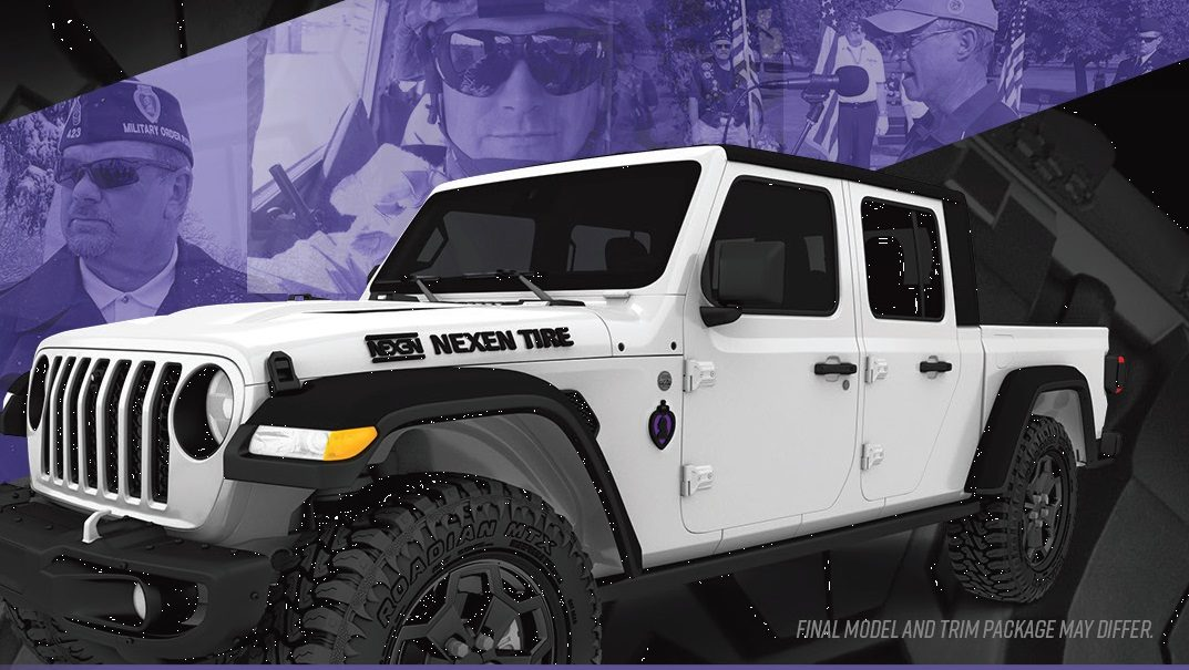 Nexen To Honor Purple Heart Veteran With a 2020 Jeep
