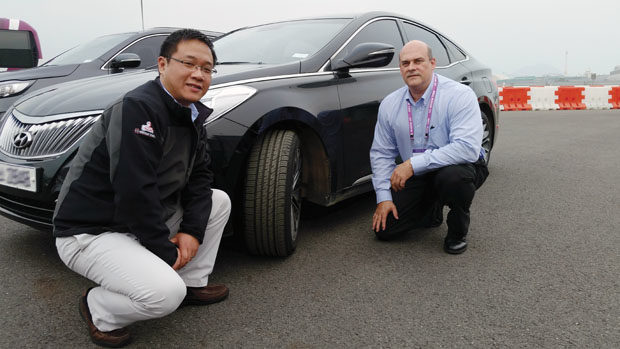 Nexen wants to spread the word about its tires