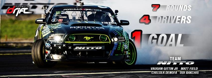 Nitto announces Formula DRIFT roster