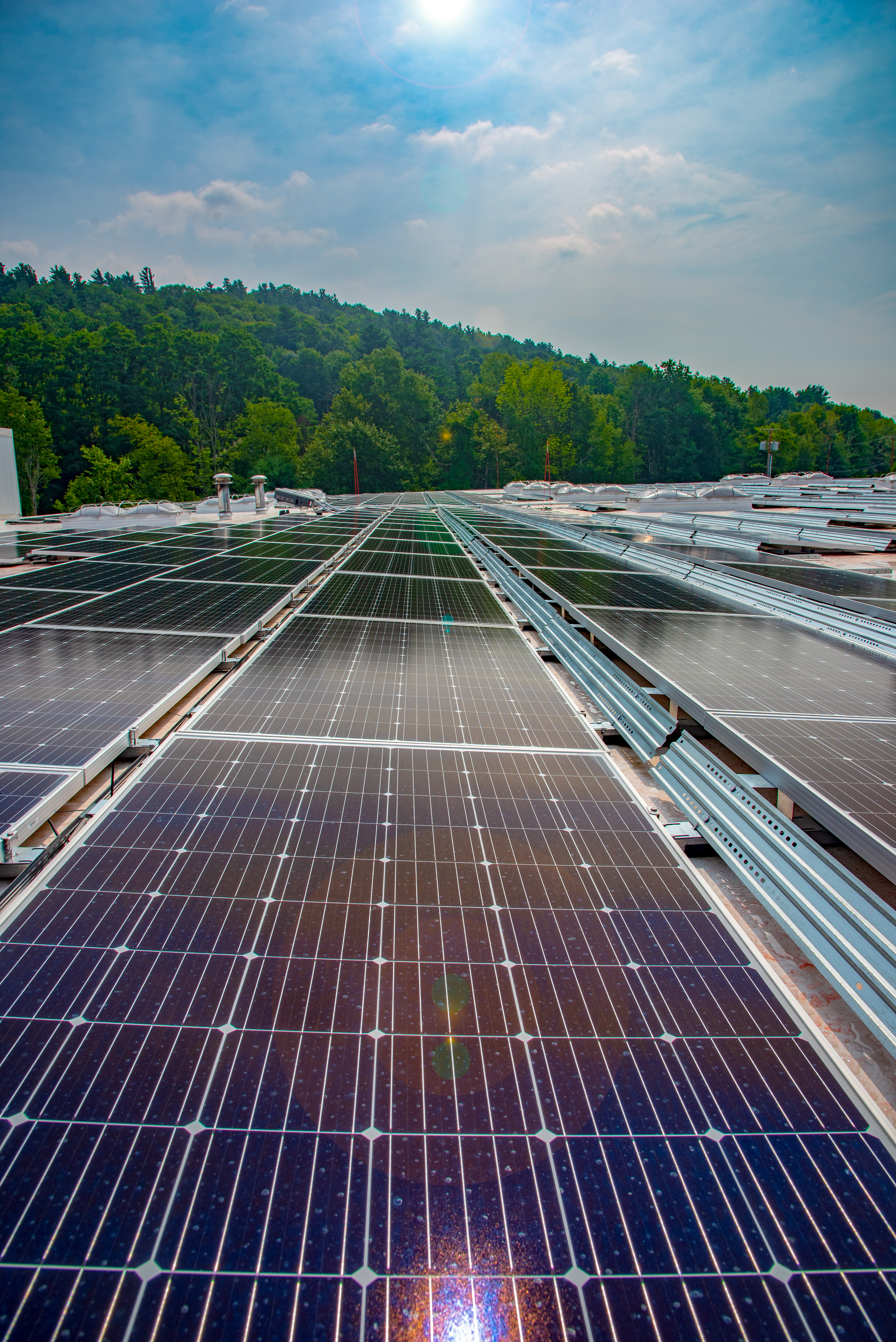 Nokian Tire Distribution Center Is Powered by Solar