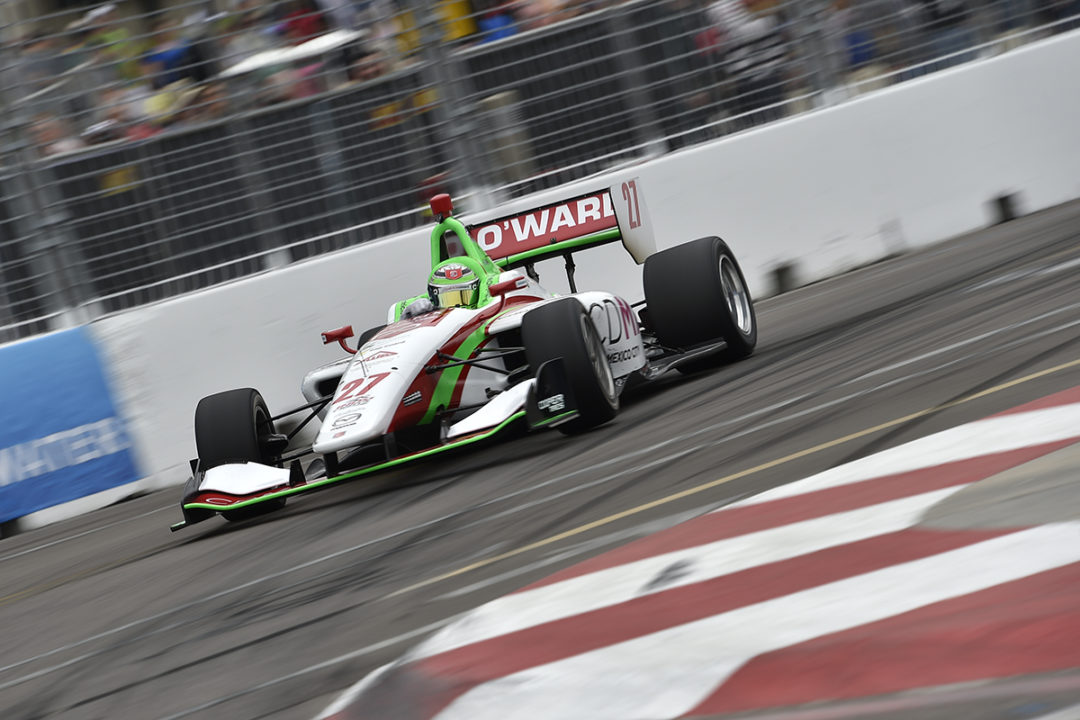 O'Ward Speeds To Indy Lights Win In St. Petersburg