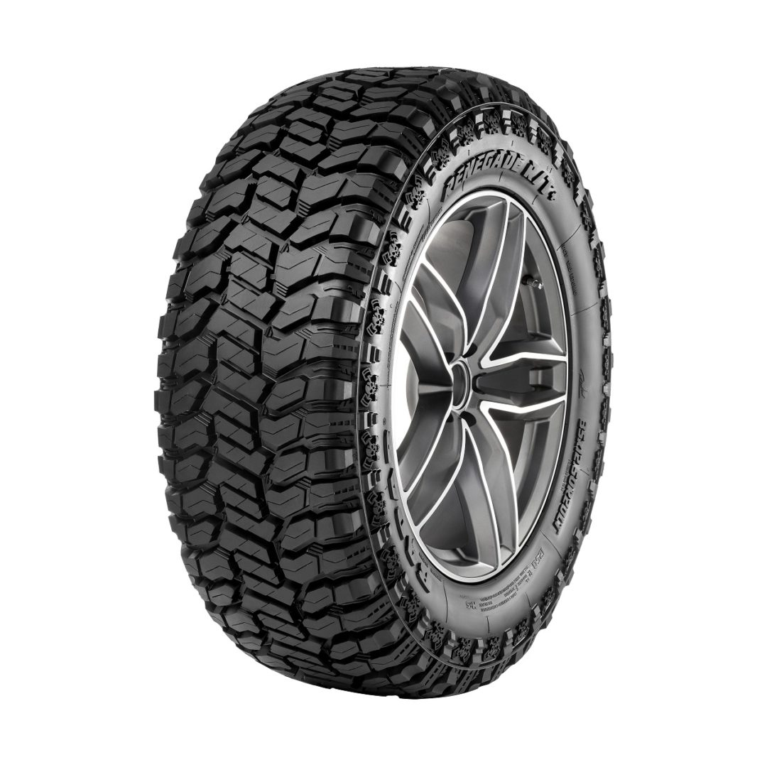 Omni United's New Rugged Terrain Tires Have a Dual Sidewall Design