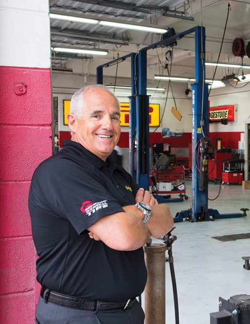 One Man. One Superstore: Alpio Barbara's Employees Call Him a Commanding, Charismatic Leader. We Call Him Our 2016 Tire Dealer of the Year