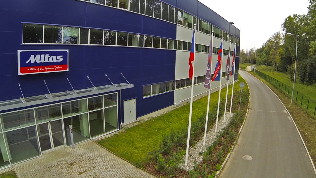 One year later: Mitas Czech plant at full capacity