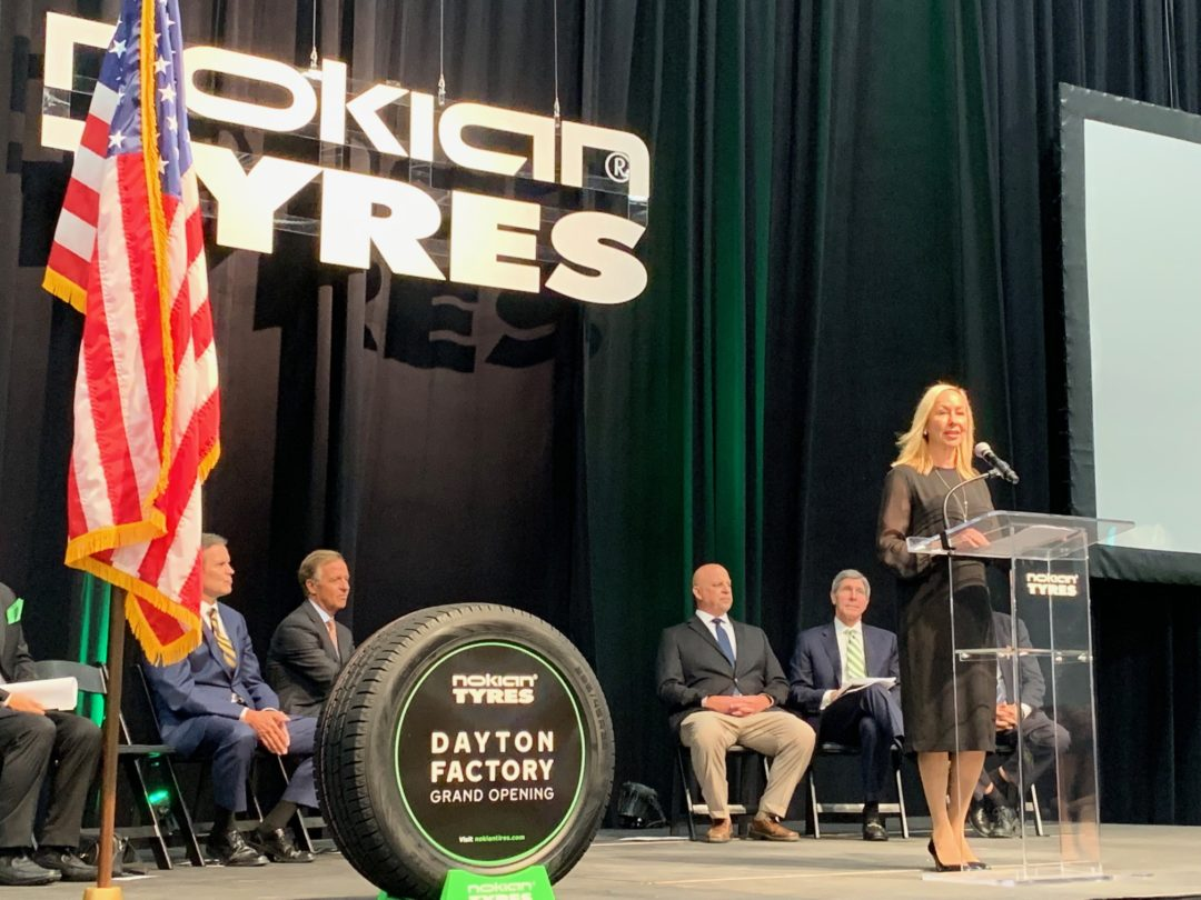 Opening of U.S. Plant Is a Nokian Milestone