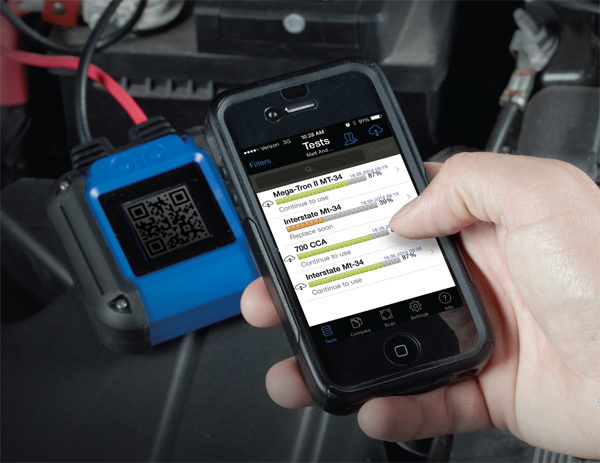 OTC releases battery tester and app