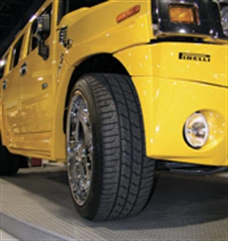 P-metric tires on SUVs and light trucks continue to grow in number and size: But vehicle owners still need guidance on issues like load and psi