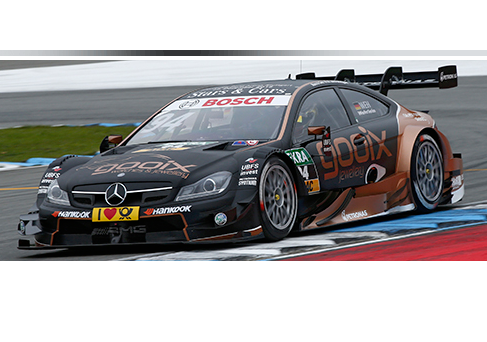 Pascal Wehrlein, on Hankook tires, is DTM Champion