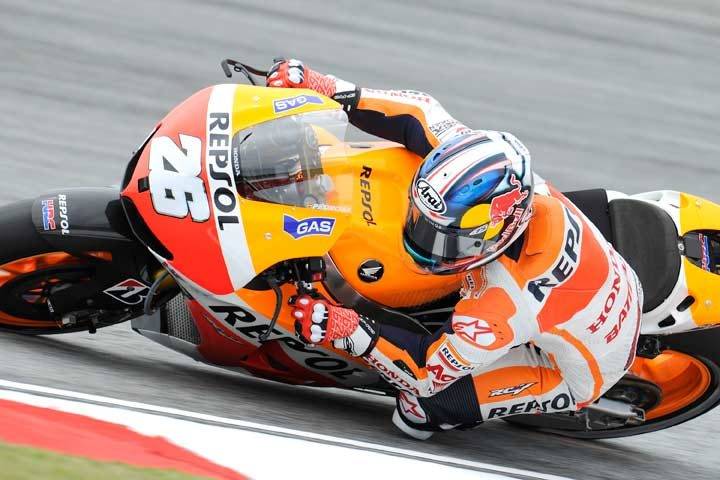 Pedrosa close to record pace in Malaysian action
