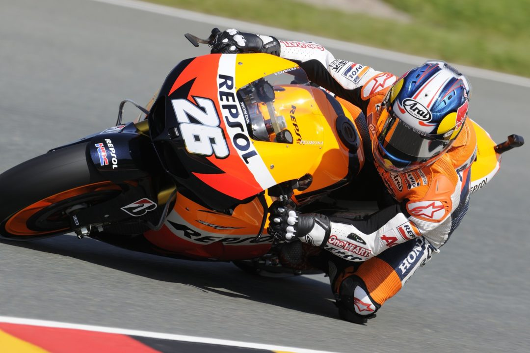 Pedrosa leads first day at Sachsenring