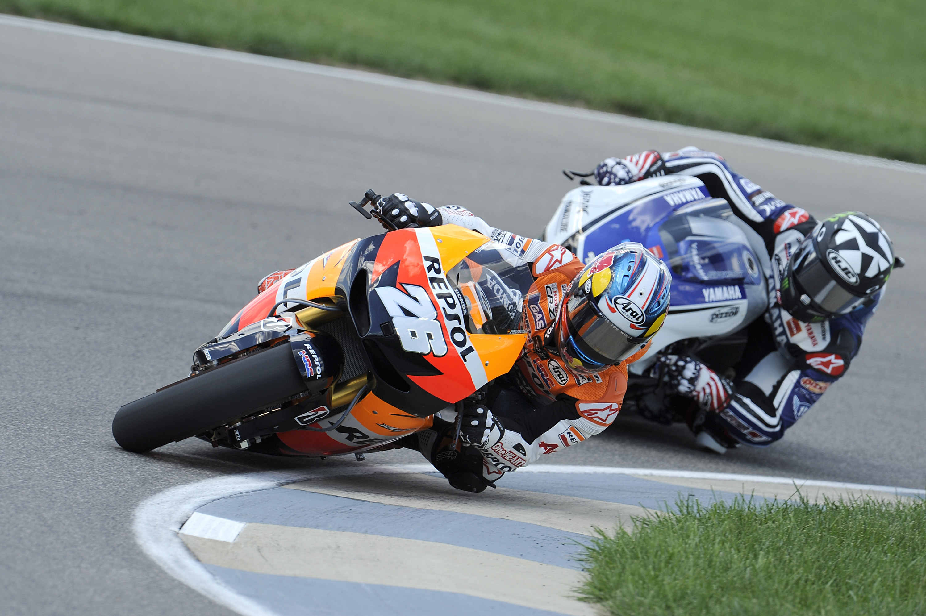 Pedrosa powers home from pole to win at Indianapolis