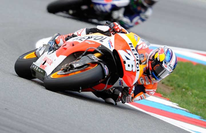 Pedrosa sets record pace for first win of the season at Brno
