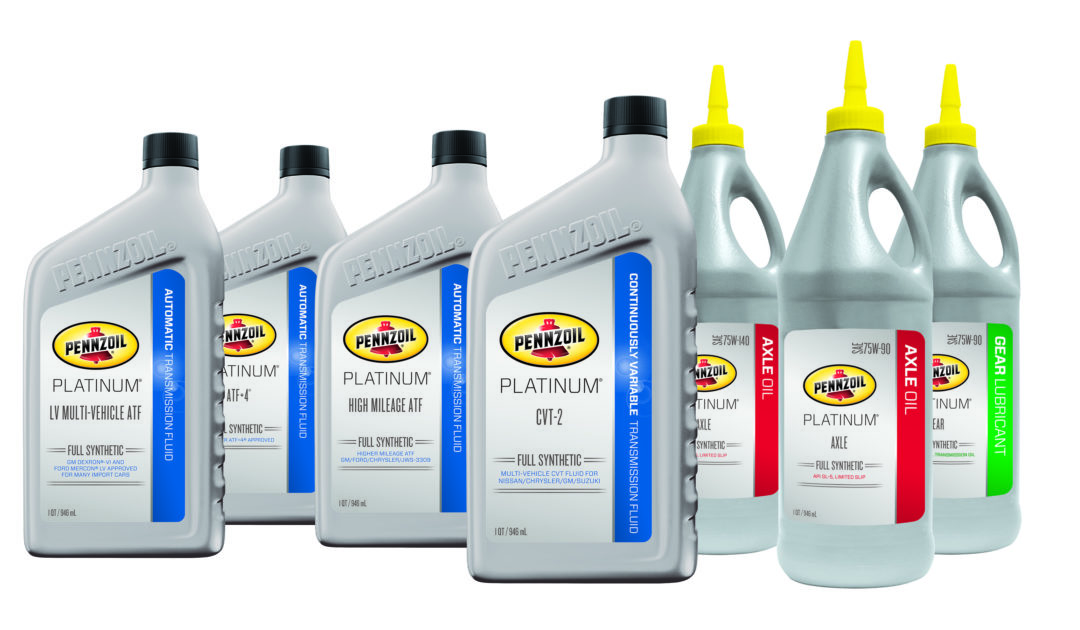 Pennzoil's Driveline Oils Portfolio is Simplified
