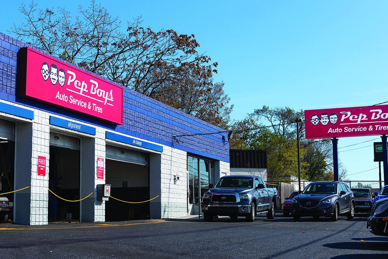 Pep Boys Relocates in New Jersey