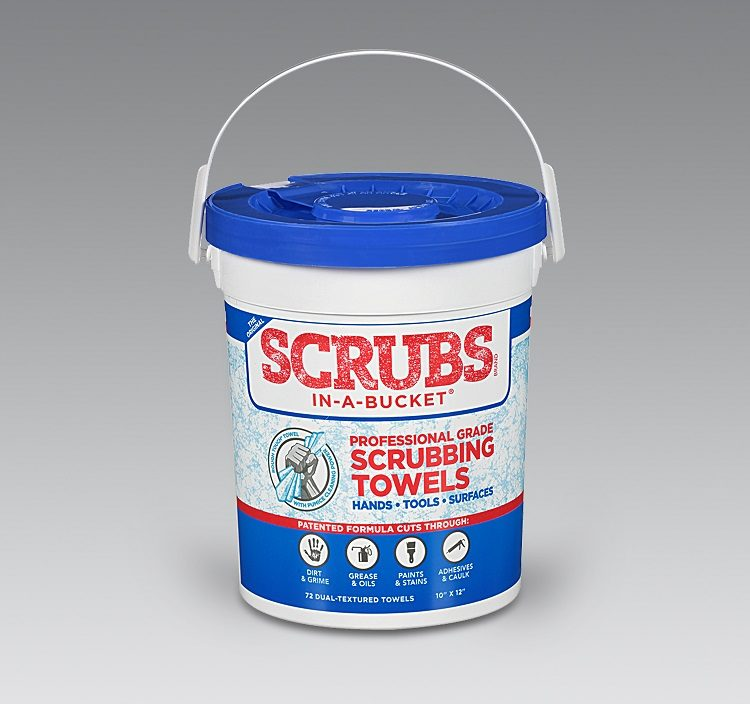Permatex Offers Scrubs In-A-Bucket Cleaning Towels