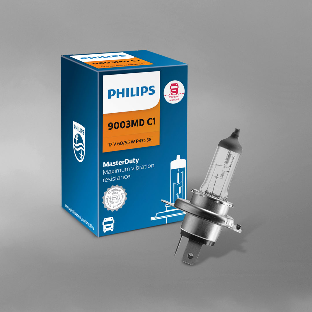 Philips Bulbs for Trucks Can Handle Road Vibrations