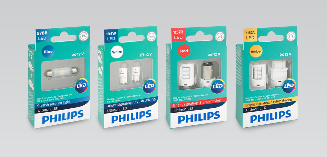 Philips Ultinon LED Lights Fit Many Applications