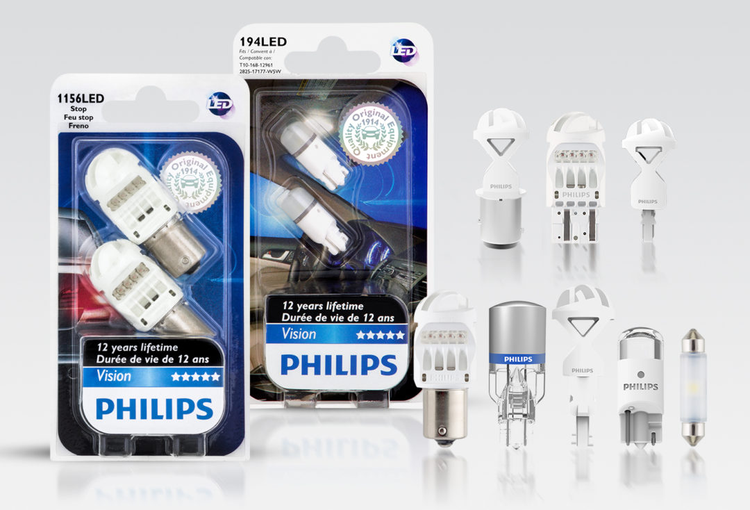 Philips unveils lights with 12-year guarantee