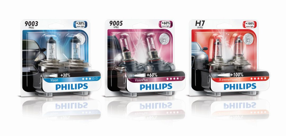 Philips Upgrade Headlight Bulbs Are Available in 3 Ranges
