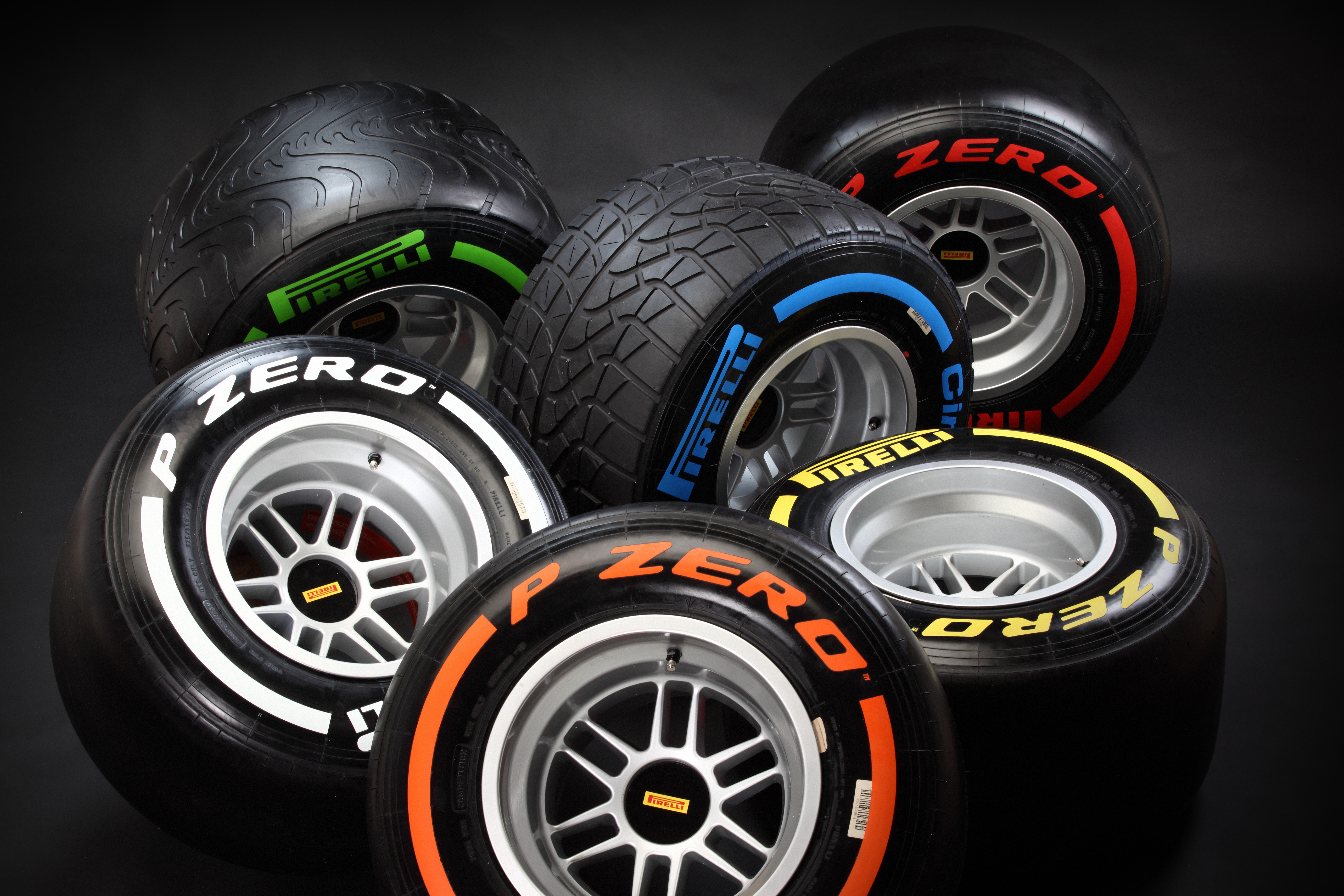Pirelli announces F1 compound choices up to Hungary