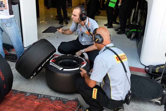 Pirelli announces tire choices to end of season