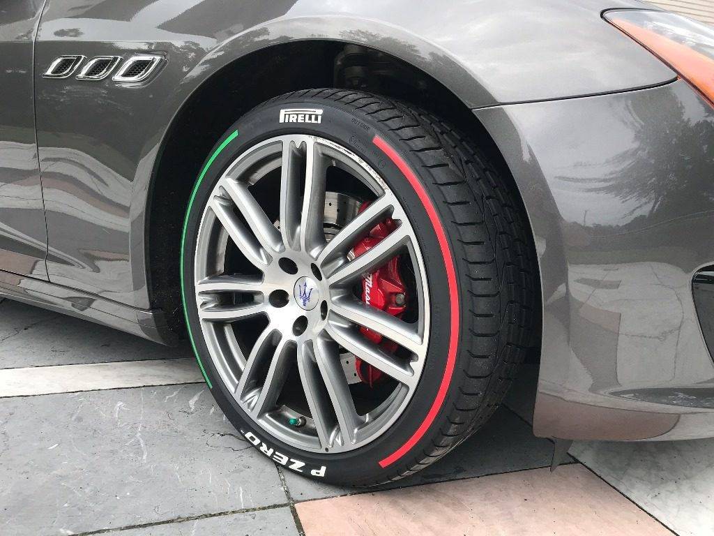 Pirelli Celebrates Italy's National Day With Tri-Color Tire